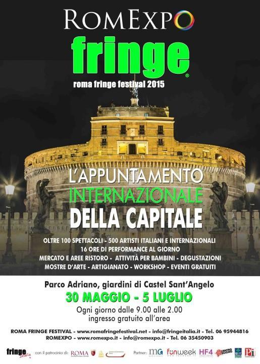 Romexpo Roma Fringe Festival Castel Sant Angelo nero