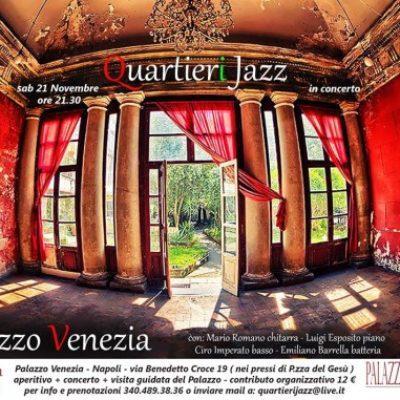 21 novembre a palazzo Venezia