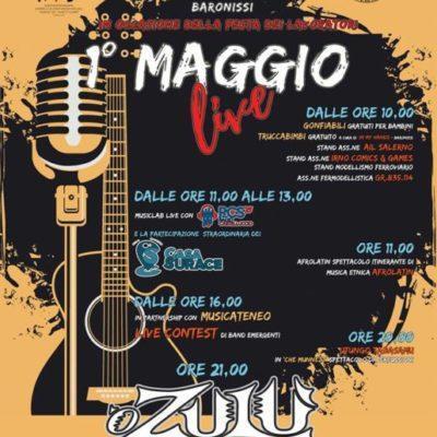 O Zulù & CasaSurace al Concerto del Primo Maggio 2018 a Baronissi