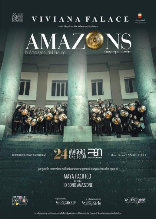 Amazons 5.0 Le Amazzoni del futuro | PAN Napoli | 24 Maggio 2018