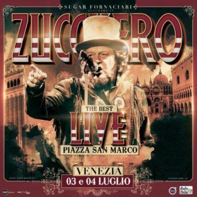 Zucchero Sugar Fornaciari in Concerto il 3 ed il 4 Luglio 2018 a Venezia | The Best live